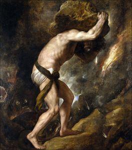 sisyphus (titian painting)